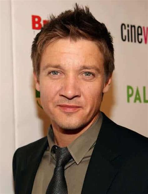 Jeremy Renner Hairstyles Cool Men Hair