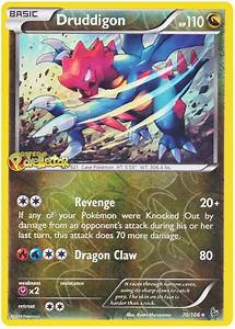 Druddigon Pokemon Card Images | Pokemon Images