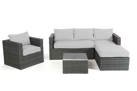 rattan lounge grau polsterbezug passend zu rattan lounge galicia 220 berzugsset in grau