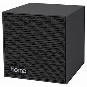 iHome Bluetooth Rechargeable Mini Speaker Cube Tar