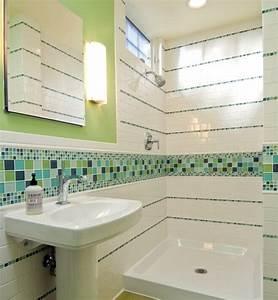 la deco salle de bain en 67 photos magnifiques archzinefr With carrelage salle de bain couleur