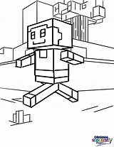 Minecraft Coloring Digital Pages Awesome Amazing sketch template