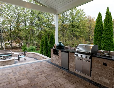 patio kitchen designs outdoor kitchens and bars moscarino outdoor creations 1425