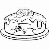 Pancake Coloring Shopkins Pages Season Cake Shopkin Sheets Colouring Fran Cartoon Pancakes Printable Characters Rare Happy Scribblefun Colour Drawing Getdrawings sketch template