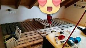 Matratzen Für Europaletten : 360 cm breites familienbett aus europaletten bauanleitung ~ Articles-book.com Haus und Dekorationen