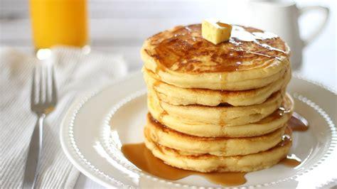 how to make pancakes fluffy pancake recipe youtube