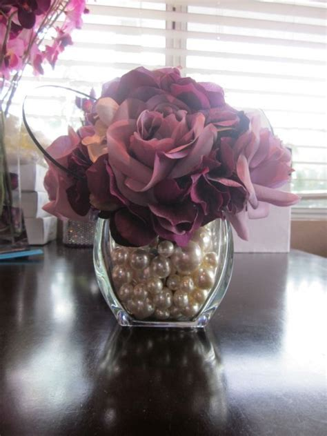 Pearls For Decoration - 25 best ideas about pearl wedding centerpieces on