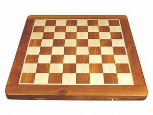 Wooden Folding Chess Board Golden Rosewood  Maple 18 U0026quot