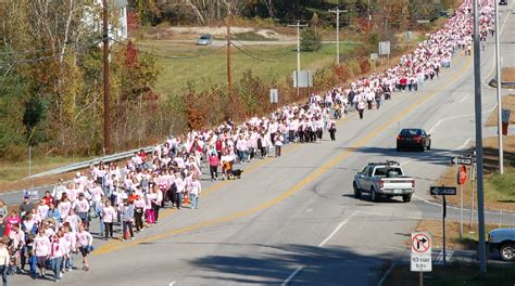 breast cancer awareness walks  tennessee