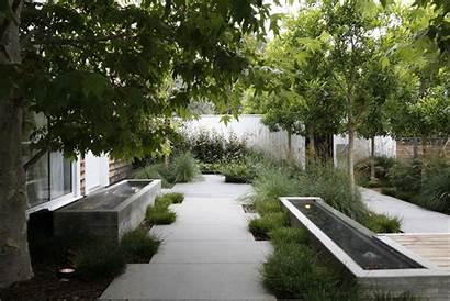 Water Garden Fountains Landscape Concrete Features Feature