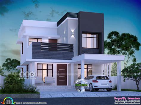 square feet  bedroom modern house plan kerala home