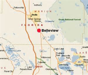 Belleview FL Map
