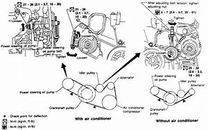 1991 Nissan Maxima Pulley Diagram Wiring Schematic