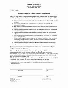 Best photos of informed consent example counseling forms for Counselling consent form template