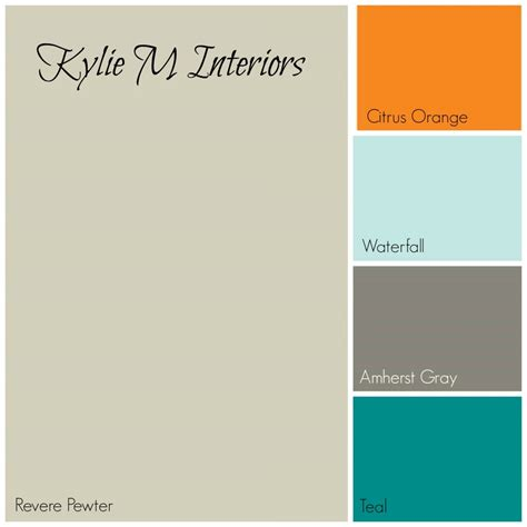 Teal Colour Living Room Ideas by Revere Pewter Paint Colour Palette For Boys Room With