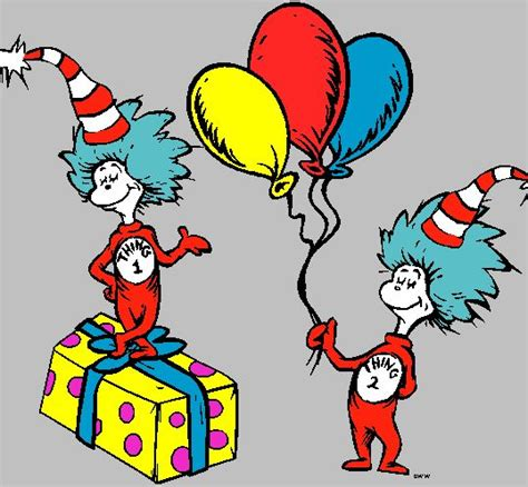 cat in the hat thing 1 and thing 2 thing 1 and thing 2 printable clip clipart best
