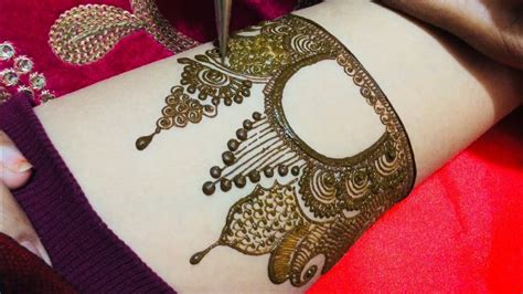 beautiful full hand bridal mehndi design youtube