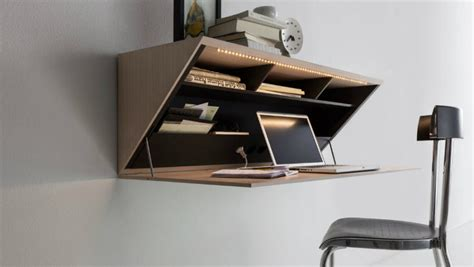 bureau secretaire moderne best wall mounted desk designs for small homes