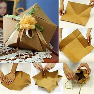 Geschenkbox Selber Basteln : geschenkverpackung basteln und geschenke kreativ verpacken freshouse ~ Watch28wear.com Haus und Dekorationen