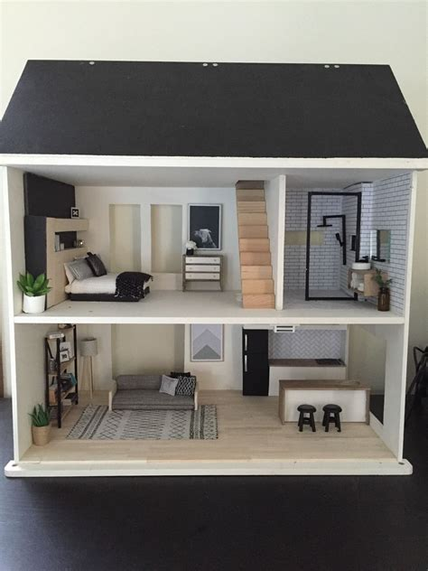 wooden doll house  dolls bears houses miniatures