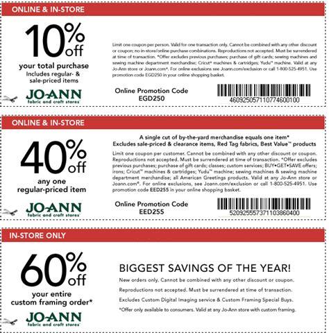 joanns printable coupon joann fabric coupons january 2015 22627 | new joann coupon