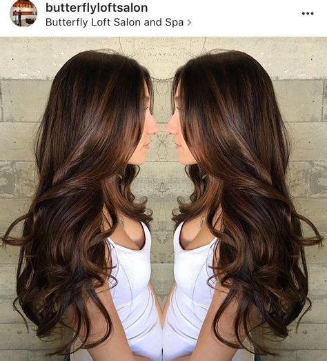chocolate colored hair beautiful chocolate brown hair color balayage in 2019