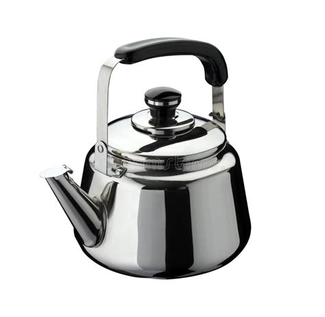 bell kitchen kitchen tools kettle on stainless steel stock image Kettle