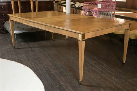 baker dining room table baker furniture dining table at 1stdibs