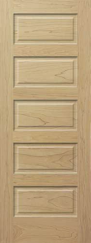 panel equal raised solid poplar stain grade solid core
