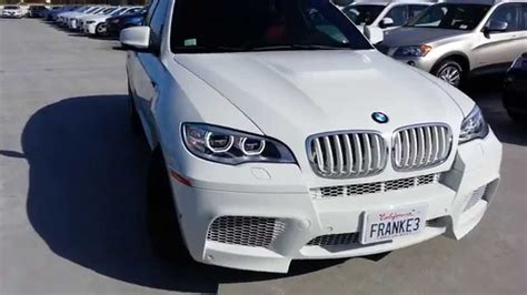 New Bmw X6 M White Out! Walk Around