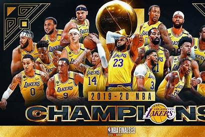 Lakers Nba Win Angeles Title Basketball Pendect