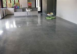 important facts about polished concrete floors giant With carrelage adhesif salle de bain avec bar a led