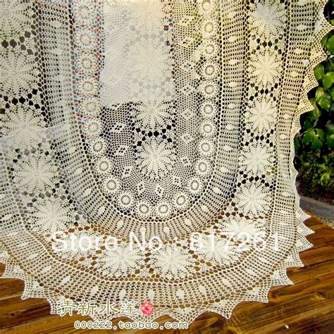 tablecloth for oval table free shipping oval beige cotton crochet lace tablecloth