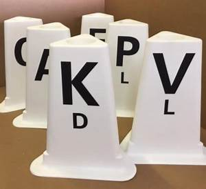dal12 dressage arena letters set of 12 With dressage letters set of 12