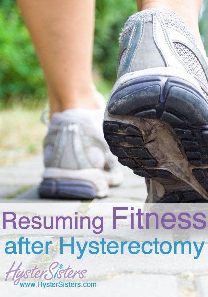 resuming fitness after hysterectomy hysterectomy