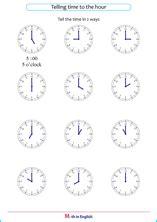 grade     hour time mesurement math school