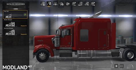 kenworth  long edition mod  american truck