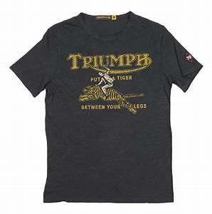 Triumph Johnson Motors Tiger T-Shirt - RevZilla