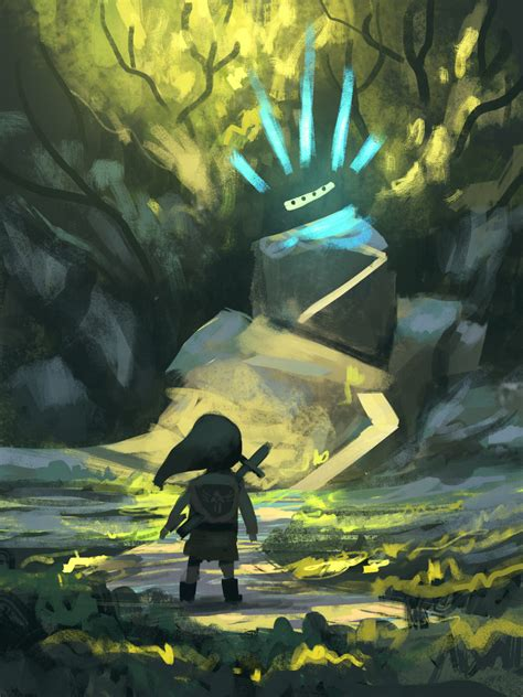 The Legend Of Zelda Inspired Concept Art And Illustrations