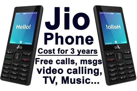 video jio phone booking pricing features  specs