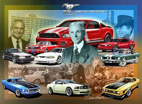 northtown ford  anniversary   mustang