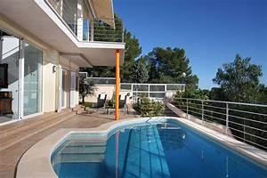 mallorca luxus ferienhaus mit direkter strand und With französischer balkon mit luxus pool im garten