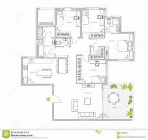 Interior, Design, Stock, Illustration, Illustration, Of, Building