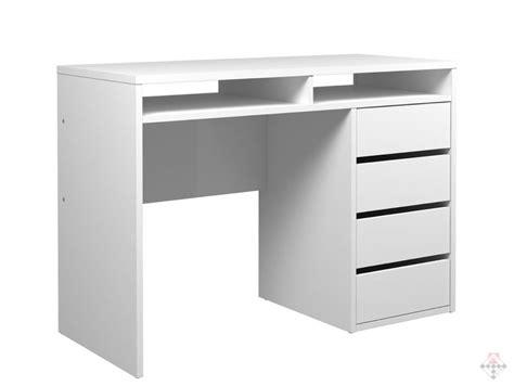 active biurko białe z szufladami