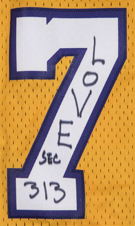 Lot Detail - Lamar Odom Owned Los Angeles Lakers