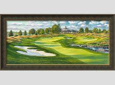 2014 PGA Championship Golf Art By Steve Lotus