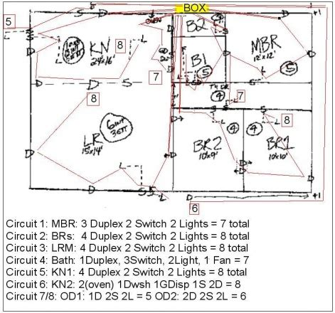 Correct Wiring Diagram For Story House Electrical