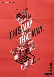 33, Incredible, Typographic, Posters
