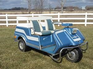 1969 Harley Davidson 3 Wheel Electric Golf Car    Cart For Sale