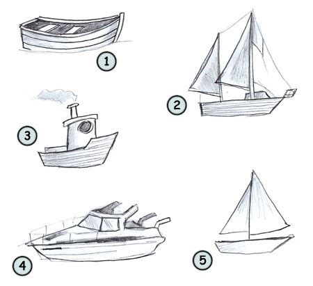 How To Draw A Fishing Boat Step By Step by Holy Boat Archive How To Draw A Fishing Boat Step By Step